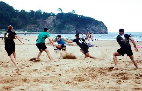 Пляжное регби